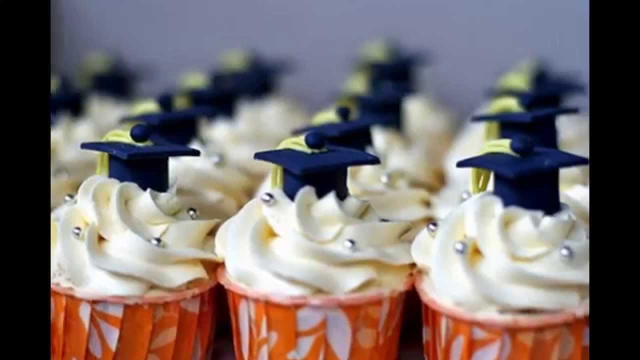 Cupcakes Graduation Decorating Ideas From Gradplanet