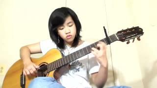 Giã Từ Vũ Khí -  Virginia Nguyen Guitar