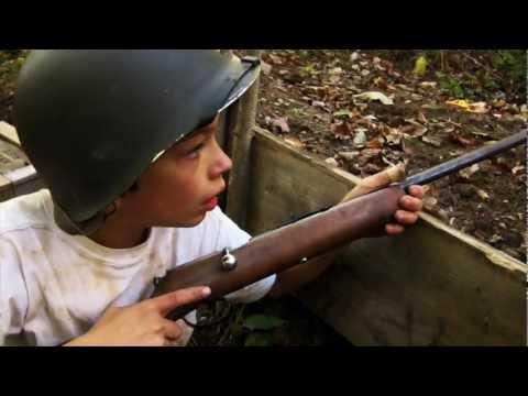 Kids Playing WW2