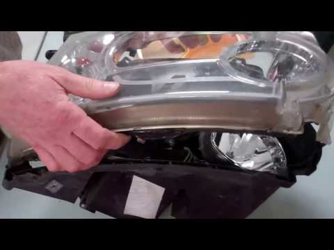 How to upgrade the inside of the Land Rover Discovery 3 headlights