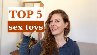 The Top 5 Sex Toys that Gave Me The Most Orgasms in 2018