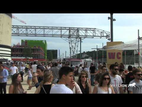 Nuits sonores 2015, Lyon France