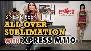 Sneak peek on All-over Sublimation with Xpress M110 Heat Press