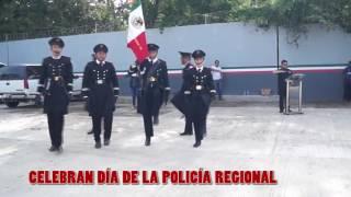 Celebran Día de la División de Seguridad Regional de la Policía Federal