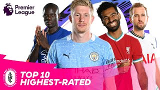 FIFA 21 | 10 HIGHEST-RATED PREMIER LEAGUE PLAYERS | AD