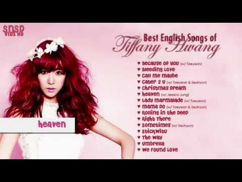 [HD] Best English Songs of Tiffany Hwang (Girls Generation)