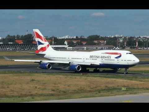 [ABORTED TAKEOFF] British Airways | Boeing 747-400 | Berlin Tegel TXL