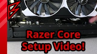 How to setup the Razer Core