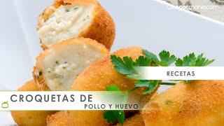 Receta de croquetas de pollo y huevo - Karlos Arguiñano