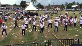 Flashmob TRS Teddy Robinson Siahaan. Calon walikota Pematangsiantar