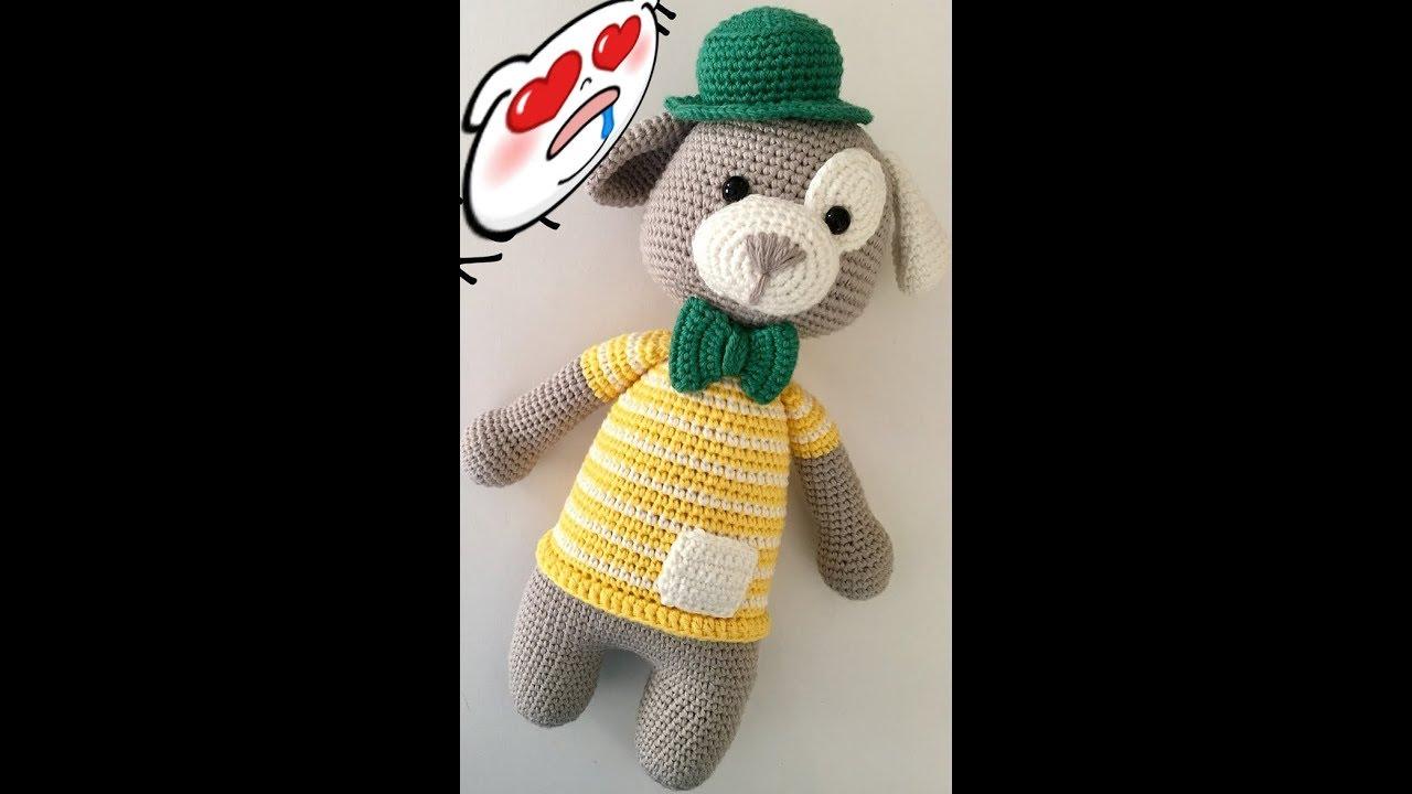Amigurumi şapkalı köpek yapımı İLK BÖLÜM