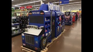 Found the Battle Bus from Fortnite at Walmart!!!