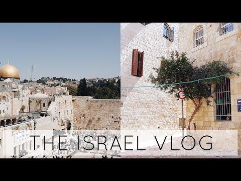 Israel Travel Vlog // Tel Aviv - The Dead Sea - Jerusalem