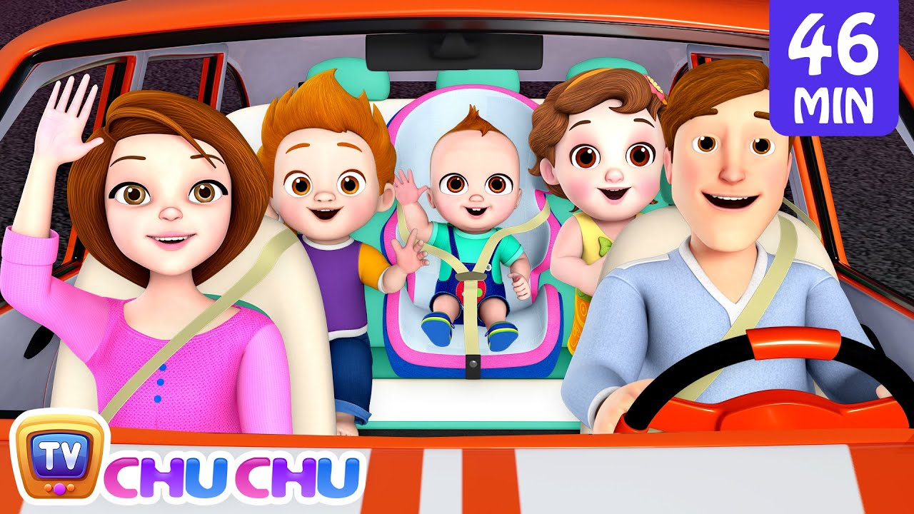 Traveling Song + More ChuChu TV Baby Nursery Rhymes & Kids Songs