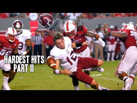 Hardest Hits of the 2015-16 College Football Season    Part 2 ᴴᴰ