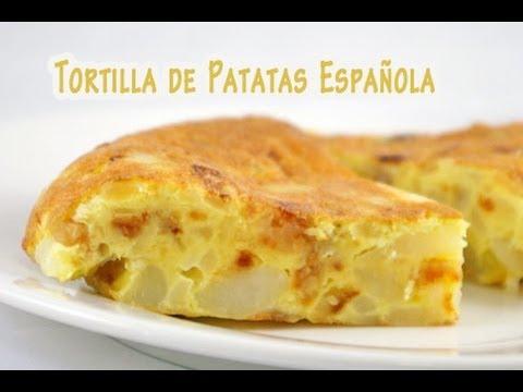 La Autentica Tortilla de Patatas Española - YouTube