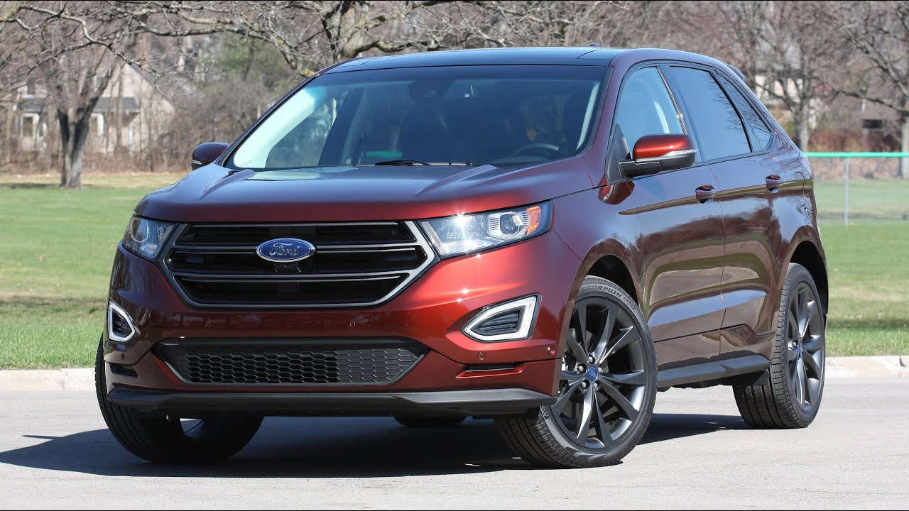 Ford Edge Vs  Jeep Grand Cherokee