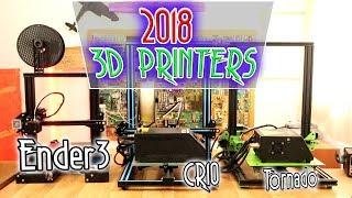 Summary of reviwed 3D printers | Best of 2018?