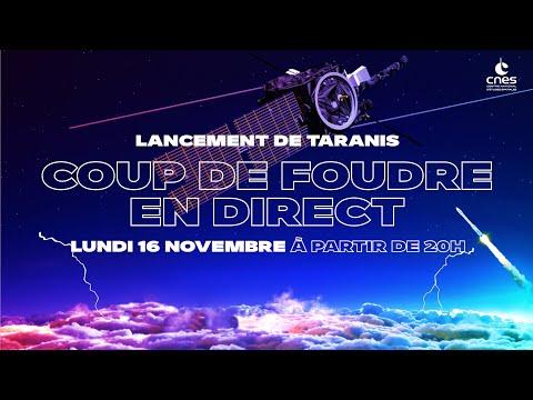 Taranis #Coup de foudre en direct
