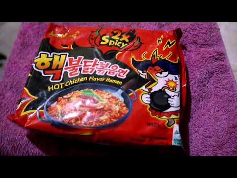 X2 X4 Fire Noodle Try Not To Laugh Kamote Challenge