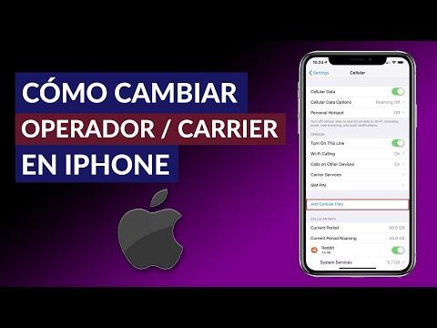 Cómo Cambiar el Nombre de mi Operador/Carrier en iPhone | Tutorial