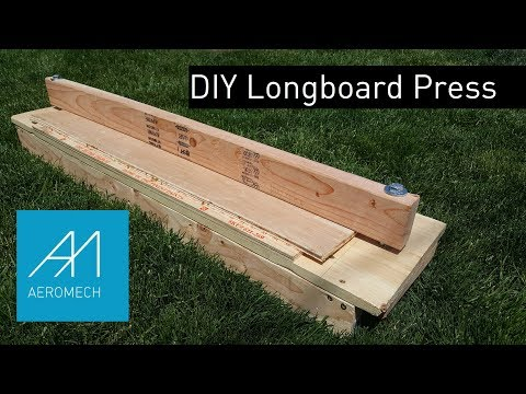 DIY Longboard Press for Cheap!