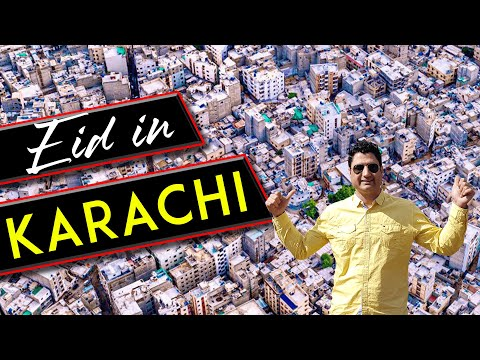 Eid in Karachi | Eid Travel VLOG in Pakistan
