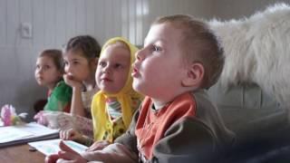 Очень умилительное и необычное видео с малышами!Мега урок о Благовещении 2013!Духовно просвет центр