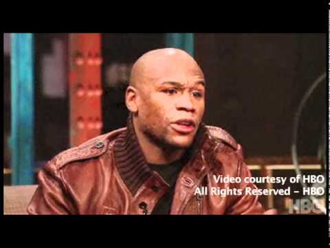 Mayweather Too Scared to Answer Question on Pacquiao  Joe Buck Live on HBO