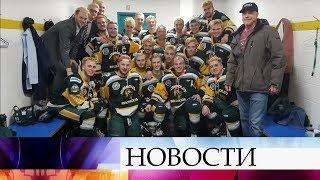 В Канаде в ДТП погибли 14 игроков юниорского хоккейного клуба «Гумбольдт Бронкос».