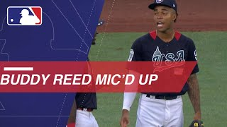 73076edf4 Buddy Reed mic d up at 2018 Futures Game