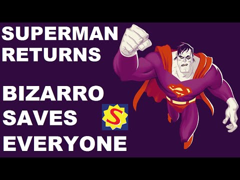 Superman Returns - Bizarro Challenges - Bizarro Saves Everyone
