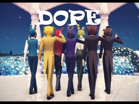 【MMD & FNAF】BTS - Dope 【Freddy, Bonnie, Foxy】 [2160p60 4k]