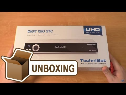 technisat-digit-isio-stc---uhd/4k-receiver-unboxing
