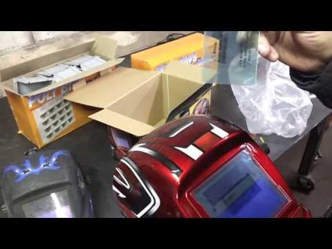 Harbor Freight Unboxing (Welding Helmet, Wire Wheels, Storage Bins, Cable Tracker)