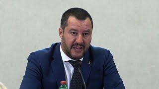 """Fondi Lega, Salvini: """"Sono tranquillo, italiani con noi"""""""