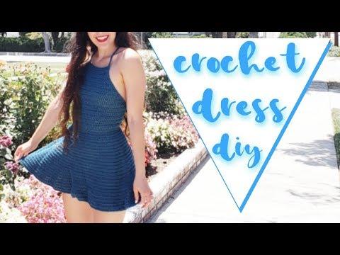 Crochet Dress // Beginner-Friendly Crochet Dress Tutorial