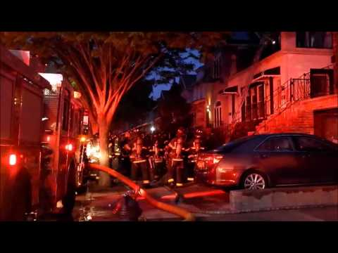 ALL HANDS HOUSE FIRE 1381 E. 16th. STREET MIDWOOD, BROOKLYN