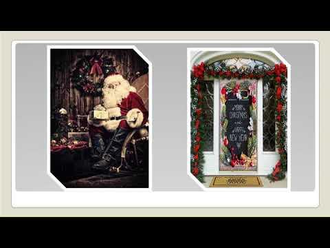Christmas Door Covers.Beseeching Christmas Door Covers