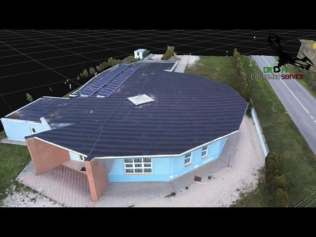 Fotogrammetria Aerea con Drone, Scuola materna Cappelle dei Marsi