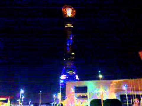 Amazing Lights of Aspire Tower, Doha-Qatar أضواء برج اسباير - قطر