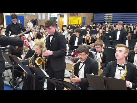 """2019 Henry Clay High School Jazz Ensemble """"Struttin with Some Barbecue"""""""