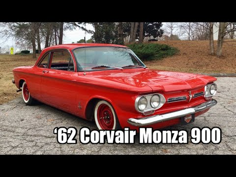 "1962 Chevy Corvair Monza 900 On ""Shakedown"""