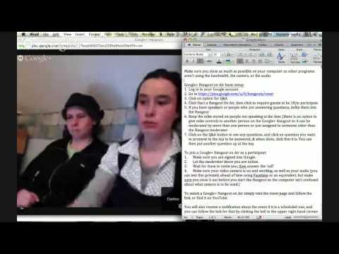 Climate Reality Google+ Hangout Training