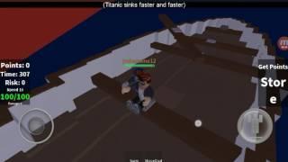 """HOLD ME JOSHUA"" Roblox Game Ep 1 The Titanic"