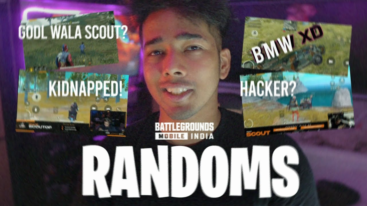 Scout & RANDOMS - Battlegrounds Mobile India | Best Of Scout : Ep 1
