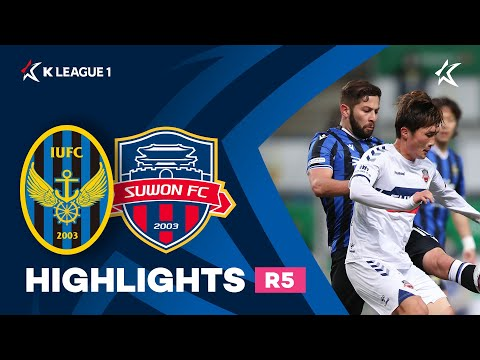 Incheon Suwon City Goals And Highlights