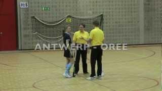 03-02-2013 Antwerp-Orée. Demi-finale Play-off Salle CG1.