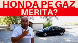 Ce probleme are o HONDA ACCORD pe gaz. Priviti!