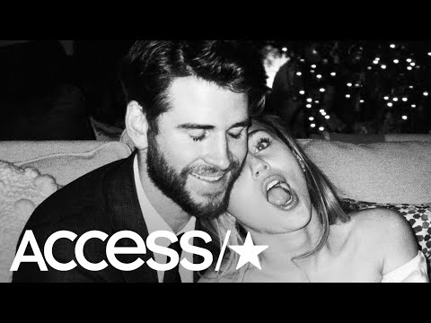 Miley Cyrus Stuns In Never-Before-Seen Photos From Her & Liam Hemsworth's Wedding Day | Access